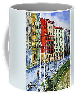 The Riverside Houses At Bilbao La Vieja Coffee Mug