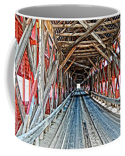 Coffee Mug featuring the photograph The Road Less Traveled by Bianca Nadeau