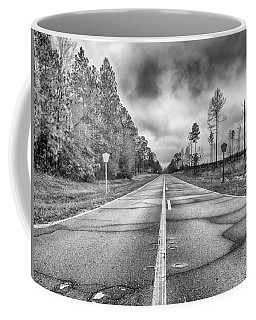 Coffee Mug featuring the photograph The Road Less Traveled by Howard Salmon