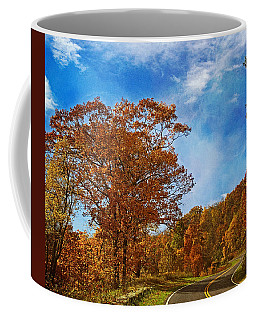 The Road To Autumn Coffee Mug