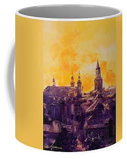 The Roofs Of Lublin Coffee Mug