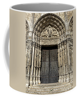 The Royal Portal At Chartres Coffee Mug
