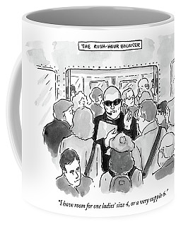 The Rush Hour Bouncer Coffee Mug