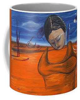 The Saharan Insomniac Coffee Mug by Christophe Ennis
