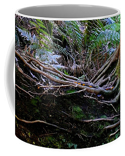 Coffee Mug featuring the photograph The Salamander Tree by Evelyn Tambour
