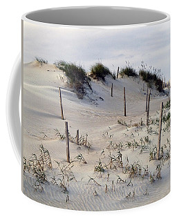 The Sands Of Obx Coffee Mug
