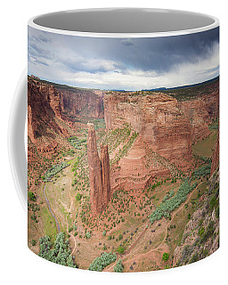 The Sandstone Spire, Spider Rock Coffee Mug