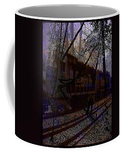 Coffee Mug featuring the digital art The Santa Fe by Cathy Anderson