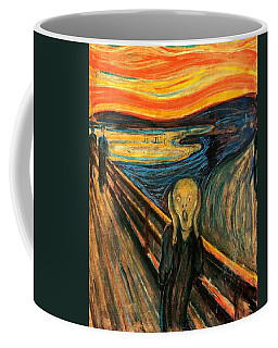 The Scream Edvard Munch 1893                    Coffee Mug