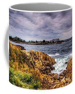 The Sea At Kennebunkport Coffee Mug