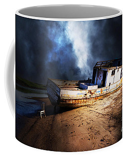 Coffee Mug featuring the photograph The Sea Never Gives Up Her Dead Dsc2099 by Wingsdomain Art and Photography