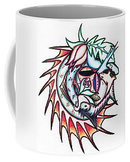The Seahorse Mosaic Coffee Mug