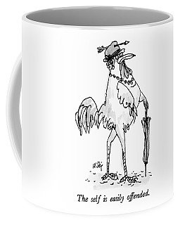 The Self Is Easily Offended Coffee Mug