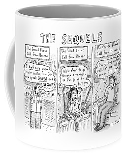 The Sequels 3 Panels Parodying A Book Called Coffee Mug