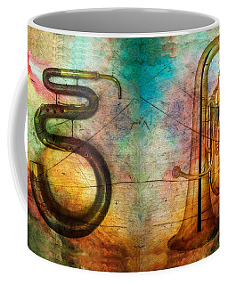 Coffee Mug featuring the photograph The Serpent And Euphonium -  Featured In Spectacular Artworks by Ericamaxine Price