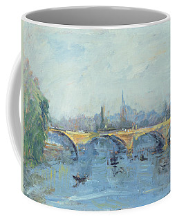 The Serpentine Bridge, London, 1996 Oil On Canvas Coffee Mug
