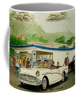 The Shake Shoppe Portsmouth Ohio 1960 Coffee Mug by Frank Hunter
