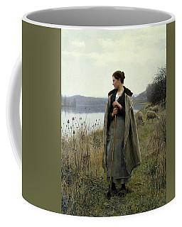 The Shepherdess Of Rolleboise Coffee Mug