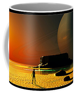 The Shore Of The Cupric Seas... Coffee Mug