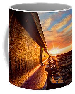 The Side Of The Rail Coffee Mug