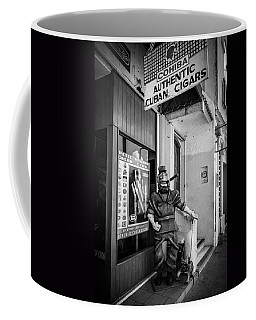 The Sidewalk Humidor  Coffee Mug