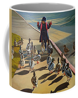 The Sidewalk Religion Coffee Mug