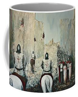 The Siege Of Ascalon Coffee Mug