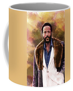 The Silky Silky Soul Singer - Marvin Gaye  Coffee Mug