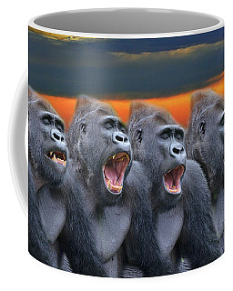 The Singing Gorillas Coffee Mug