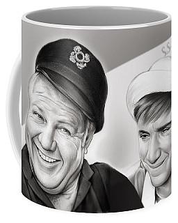The Skipper And Gilligan Coffee Mug