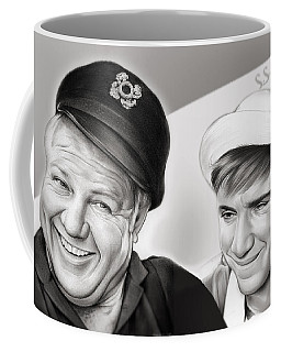 The Skipper And Gilligan Coffee Mug