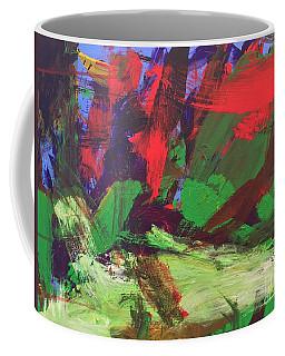 Coffee Mug featuring the painting The Sky by Donald J Ryker III