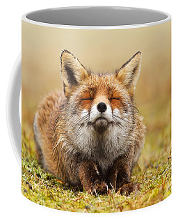 The Smiling Fox Coffee Mug