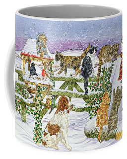 The Snowman And His Friends  Coffee Mug