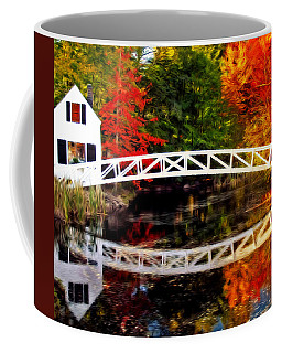 The Somesville Bridge Coffee Mug
