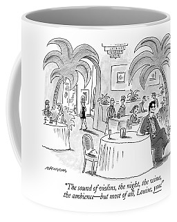 The Sound Of Violins Coffee Mug