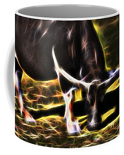 The Sparks Of Water Buffalo Coffee Mug by Miroslava Jurcik