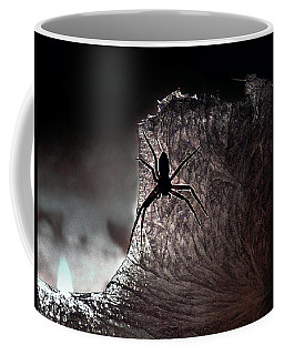 The Spider On The Candle - Subtly Colored Version Coffee Mug