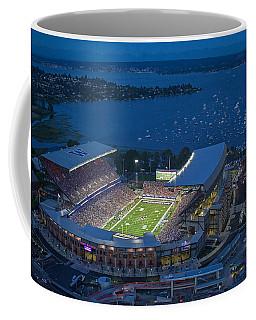 Husky Stadium And The Lake Coffee Mug