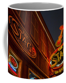 Coffee Mug featuring the photograph The Stage by Glenn DiPaola