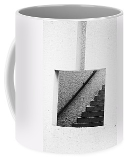 The Stairs In The Square Coffee Mug