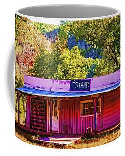 Coffee Mug featuring the painting The Stand by Muhie Kanawati