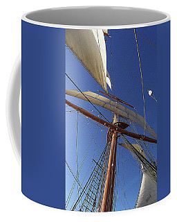 The Star Of India. Mast And Sails Coffee Mug