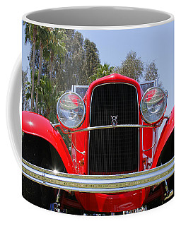 Coffee Mug featuring the photograph The Stare Of A V8 by Shoal Hollingsworth