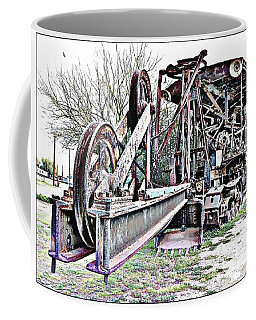 The Steam Shovel Coffee Mug by Glenn McCarthy Art and Photography