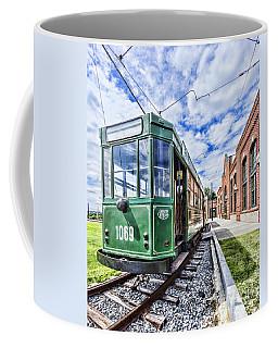 The Stib 1069 Streetcar At The National Capital Trolley Museum I Coffee Mug