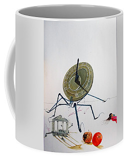 The Sting Of Time Coffee Mug by Lazaro Hurtado