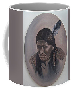 Coffee Mug featuring the painting The Story Teller by Michael  TMAD Finney