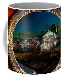 Coffee Mug featuring the photograph The Street On The River by Gunter Nezhoda