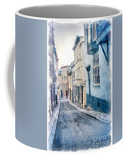 The Streets Of Old Quebec City Coffee Mug